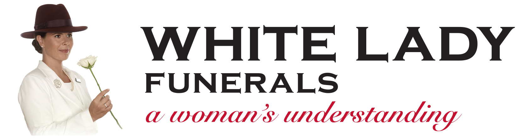 2017 White Lady Funerals logo